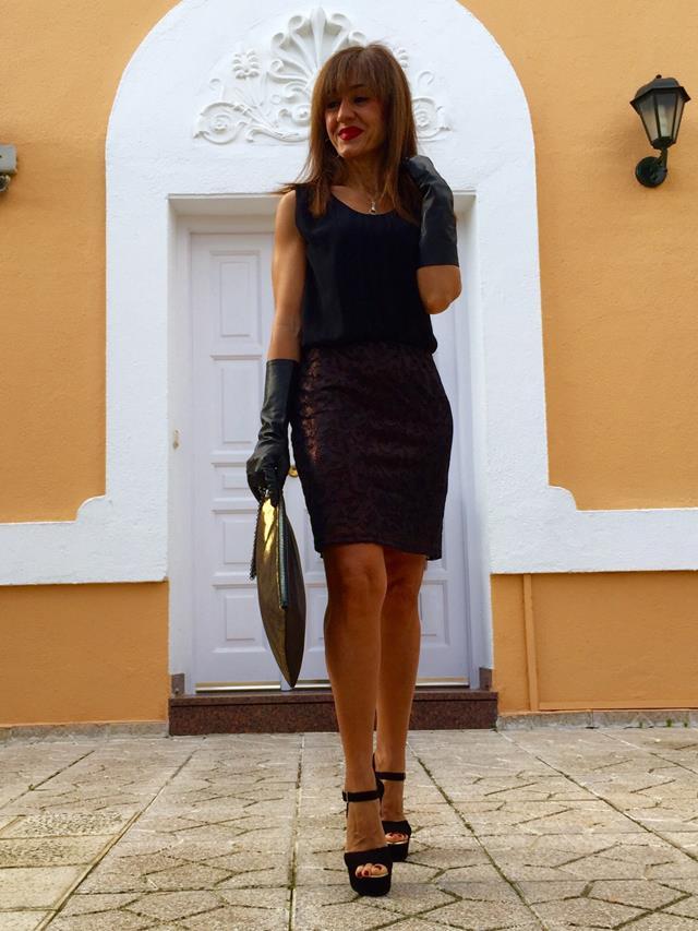 Gloves zara in nomine fashion - Marcador de ropa mine el corte ingles ...