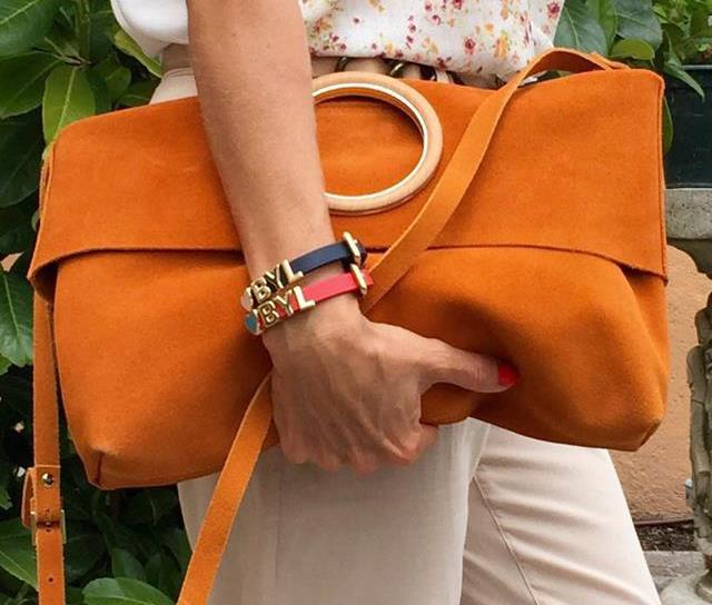 BEIGE AND ORANGE