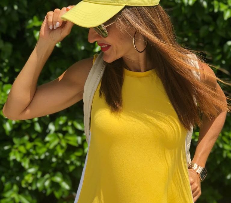 YELLOW AND SPORTY